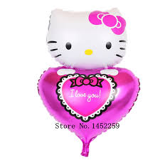 valentines day balloons wholesale xxpwj hello holding heart i you s day gift