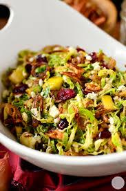 ina garten brussel sprouts pancetta fall shredded brussels sprouts salad recipe sprouts salad
