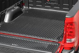 bed of truck truck bed liners mats custom fit over the rail coatings