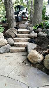 landscape block adhesive retaining wall stairs retaining wall with stone steps