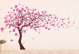 cherry blossom tree wall decal modern wall decals by pop