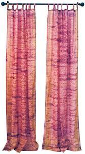 Sari Curtain Sari Window Curtain Dusty Rose Gold U2014 Colors By Padmini