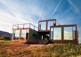 shipping container home builder in the shipping container trend