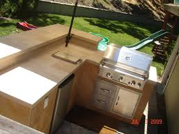l shaped outdoor kitchen ideas with island kits pictures granite