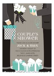couples wedding shower invitations blue two grooms classic wedding shower invitation polka