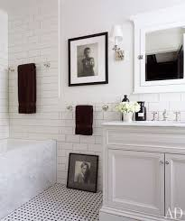 Bathroom Cabinets Sarasota Bathroom Design With Basketweave Tiles Floor White Bathroom