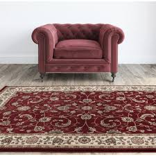 Red Kids Rug Persian Design Border Red Floor Rugs Free Shipping Australia Wide