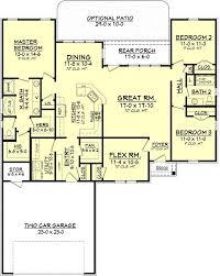 river oak country french house plan u2013 house plan zone
