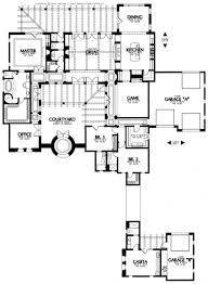 adobe house plans with center courtyard
