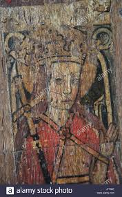 Historical Description Of Suffolk England Medieval Rood Screen Painting Paintings Saint Saints England Uk