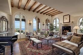 living room in mansion jeff bridges u0027 stunning mansion in beautiful montecito blog