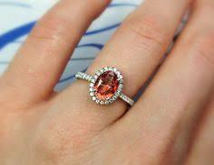 padparadscha sapphire engagement ring 90 stunning padparadscha sapphire rings that you must see