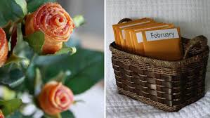 Valentine S Day Gift Ideas For Her Pinterest Bacon Roses And More Pinterest Inspired Diy Valentine U0027s Day Gifts
