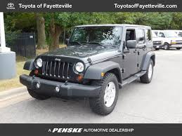 wrangler jeep 2010 2010 used jeep wrangler unlimited rwd 4dr sport at toyota of