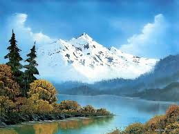 Mountain Landscape Paintings by Most Beautiful Waterfalls Painting In Oils Photography Funees