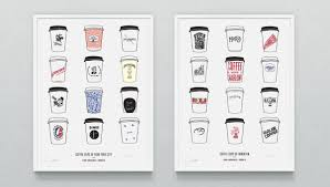 Cool Coffee Cups by Knowlita Henry Hargreaves U0027 Coffee Cups Of New York Cool Hunting