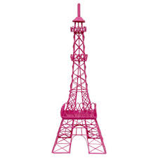 eiffel tower decorations hot pink metal eiffel tower decor hobby lobby 736777