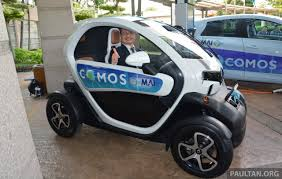renault twizy renault twizy a two seater electric