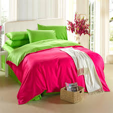 Solid Color Comforters 100 Natural Cotton Euro Double Size Solid Color Bedding Sets