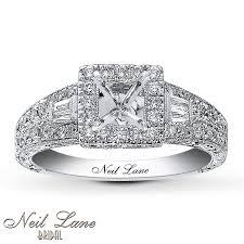 Neil Lane Wedding Rings by Jared Neil Lane Ring Setting 5 8 Ct Tw Diamonds 14k White Gold