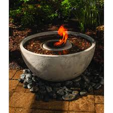 Aquascape Water Features This Self Contained Water And Fire Feature Is Sure To Be The Focal