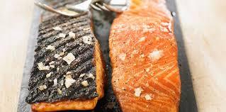 cuisine pav de saumon pavé de saumon au barbecue facile recette sur cuisine actuelle