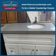 Custom Quartz Vanity Tops Bath Tops History Stone Industrial Co Ltd