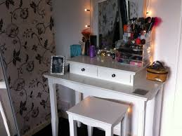 Lighted Vanity Table With Mirror And Bench Lighted Vanity Table Bedroom New Lighting Ideal Lighted Vanity
