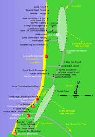 Raven Maps Koh Lanta Maps Thailand Maps Of Ko Lanta Island