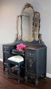 Antique Vanity With Mirror And Bench - table attractive 25 best dressing table with lights ideas on