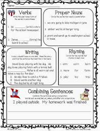 language arts daily review for second grade free sample pages