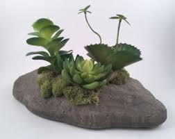 Faux Stone Planters by Faux Stone Planter Etsy