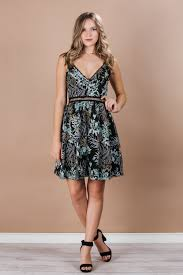 bright and blooming dress dresses party dresses embroidered