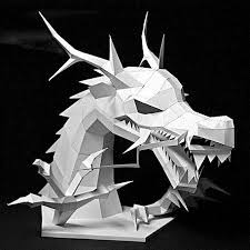 paper dragons 28 images of paper template infovia net