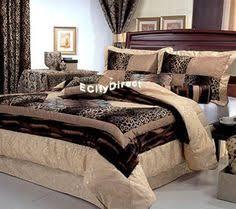 Cheetah Print Comforter Queen 7 Pieces Multi Animal Print Comforter Set King Size Bedding Brown