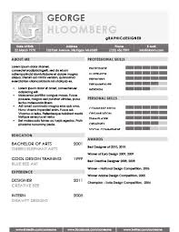 Two Column Resume 22 Contemporary Resume Templates Free Download