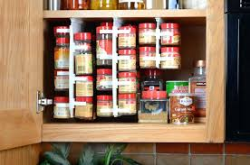 spice cabinets for kitchen sliding spice rack learnerp co