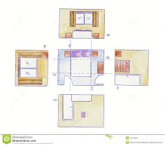 Floor Plan Elevations Floor Plans And Elevations Stock Illustration Image Of Elevations