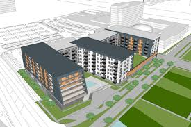 299 unit apartment plan pitched for parking lot near chicago u0027s o