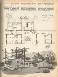 vintage house plans mid century homes 1970s homes floor plans