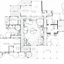 enchanting u shaped house floor plans with courtyard photo design