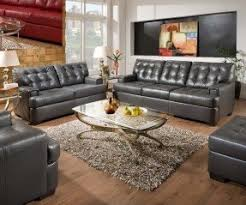 Grey Leather Sofa And Loveseat Simmons Leather Sofa And Loveseat Foter