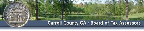 Mobile County Property Tax Records Carroll County Board Of Tax Assessors