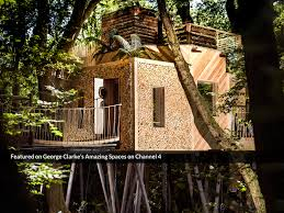 Amazing Tree Houses by The Woodsman U0027s Treehouse Canopy U0026 Stars