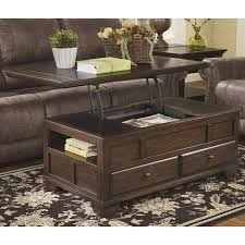 nebraska furniture coffee tables gately lift top cocktail table in medium brown nebraska furniture