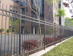 guangzhou supplier antique metal park used wrought iron tubular
