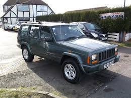 jeep cherokee green for sale jeep cherokee 4 0 classic automatic 4x4 a c petrol