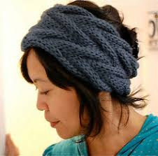 knitted headband pattern headband and headwrap knitting patterns in the loop knitting