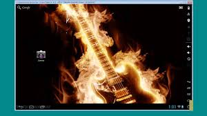 how to use burning guitar hd wallpaper youtube