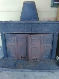 montgomery ward wood burning fireplace for sale in mckinney tx